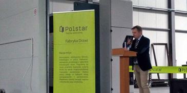 Otwarcie fabryki Polstar